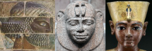 An Assyrian warrior, a head of a Nubian and the head of a King or Pharoah, all are marvellous designs.