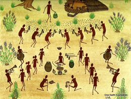 Kurumba tribal painting