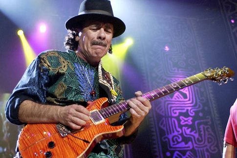 Carlos Santana at the Starlite Festival