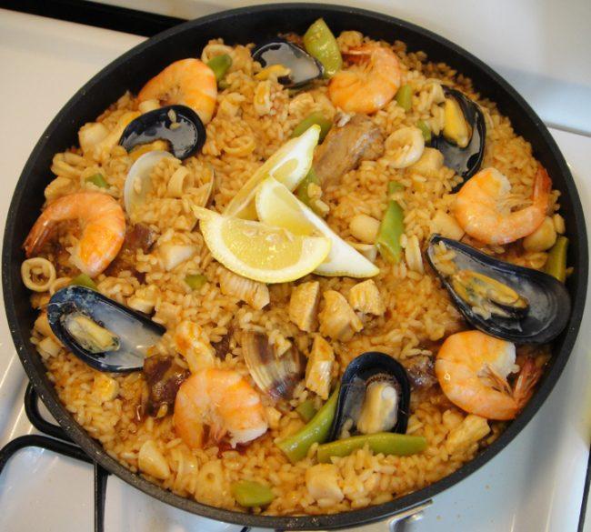 histrory of spanish food