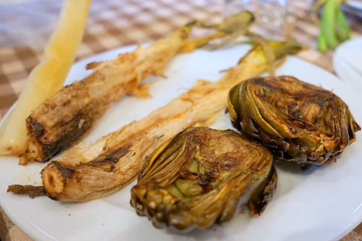 calcots and artichokes spain