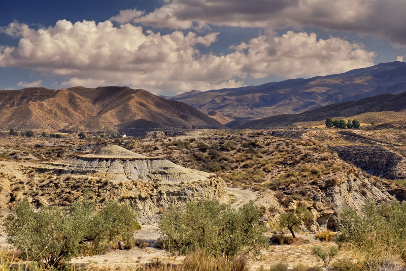 Almeria desert spain