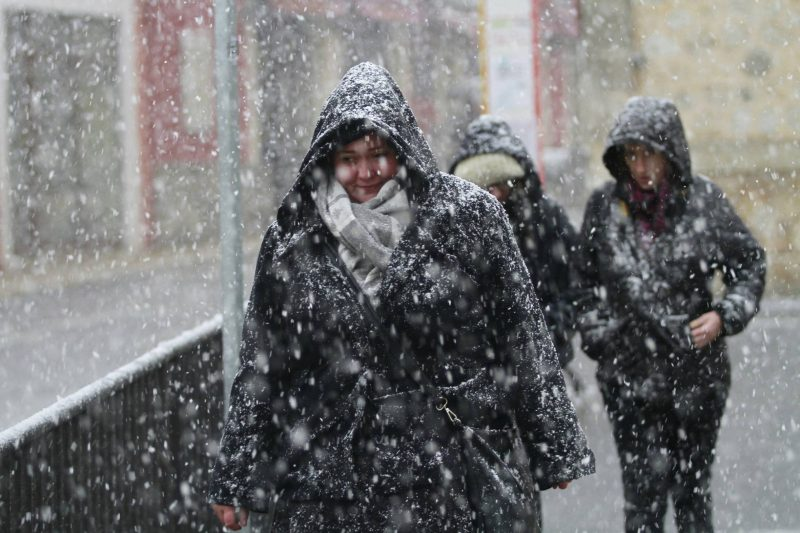snow in spain mallorca
