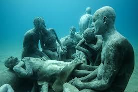 underwater museum spain