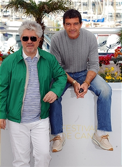 Almodovar at the 64th Cannes Film Festival in 2011. Photo: AFP