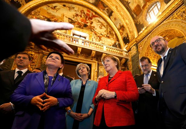 Leaders-visit-Saint-Johns-Co-Cathedral-during-a-break-in-the-European-Union-leaders-summit-in-Malta