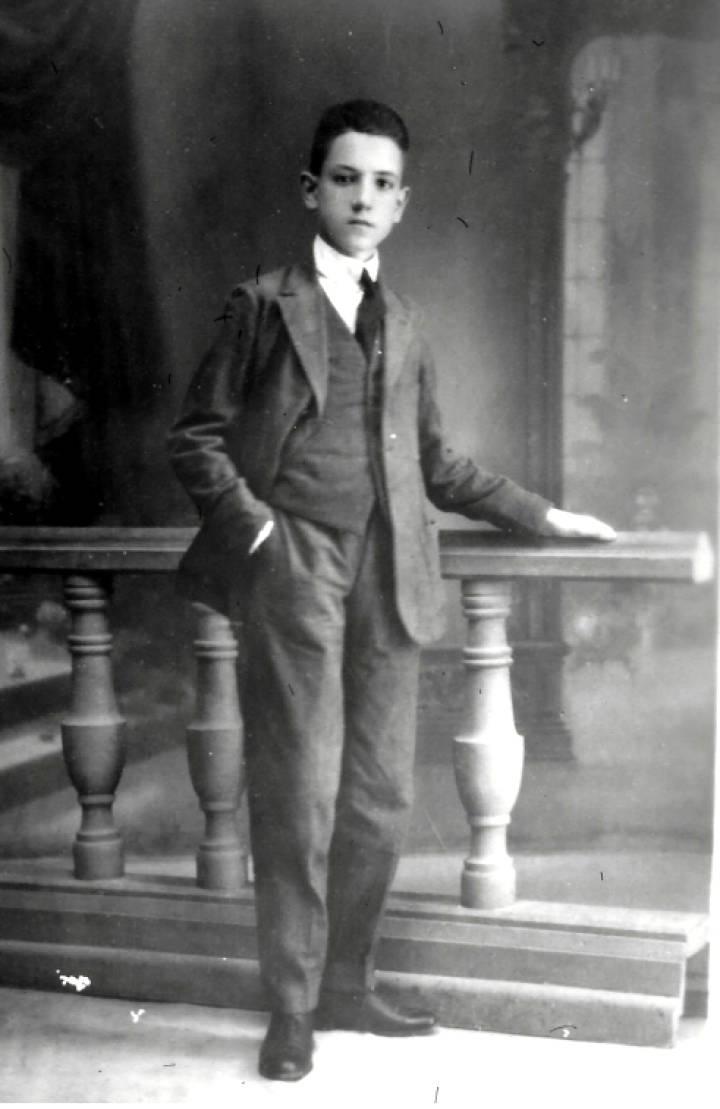 Rafael Mendez at age 13