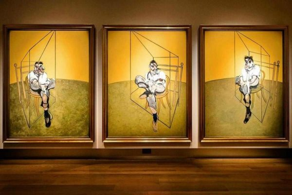 Francis-Bacon-Three-Studies-of-Lucien-Freud-