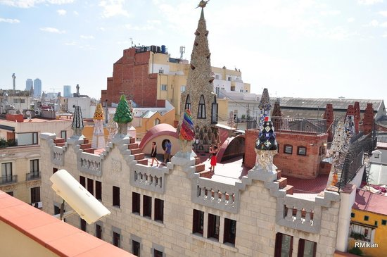 Rooftop of Palau Güell