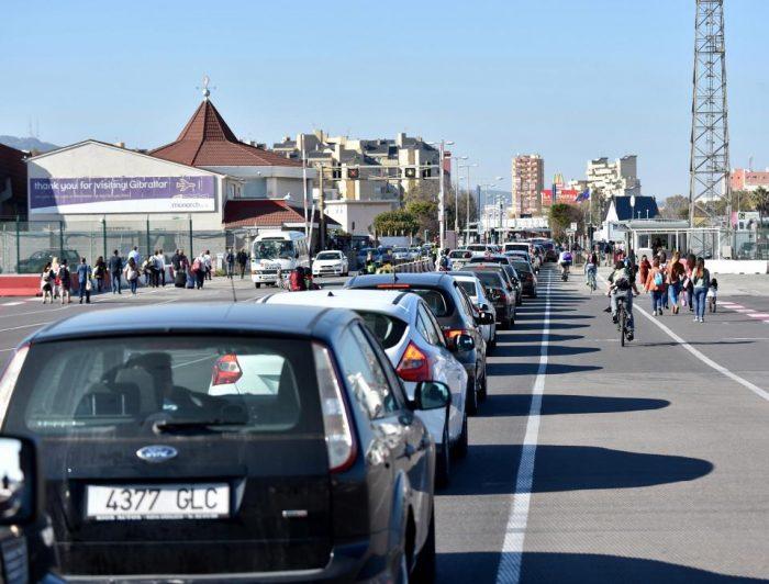 spain gibraltar traffic