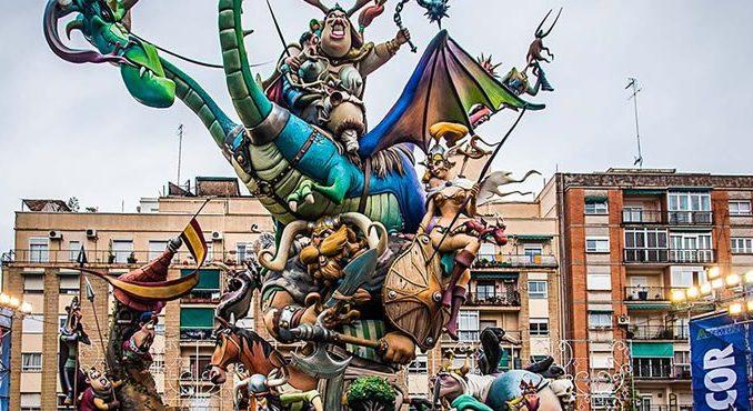 La Fallas de Valencia
