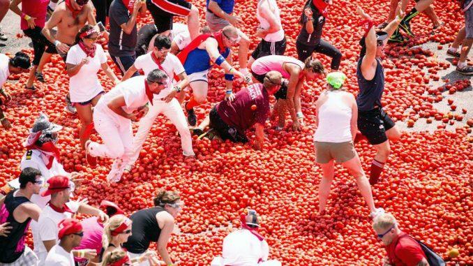 Tomato Festival Spain